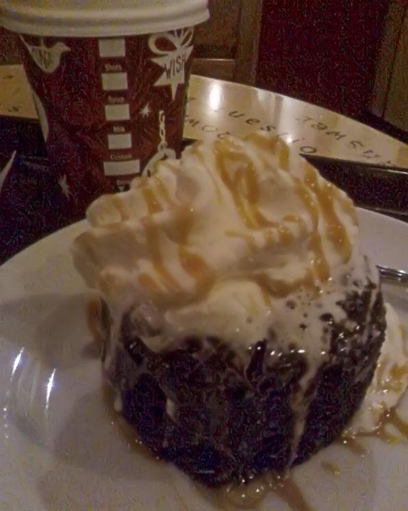 Molten Dark Chocolate Starbucks