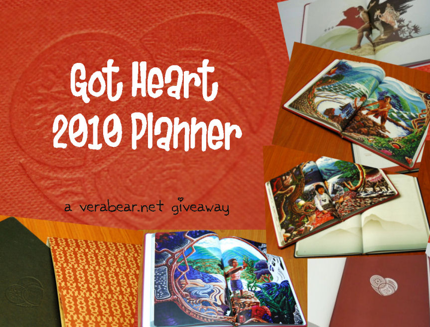 Got Heart Planner Giveaway