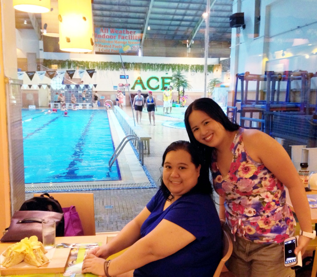 Ace Water Spa with Charisse