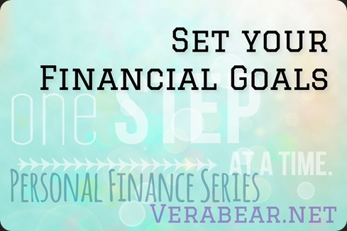 Set your financial goals