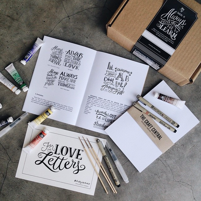 The Craft Central - Lettering Starter Kit